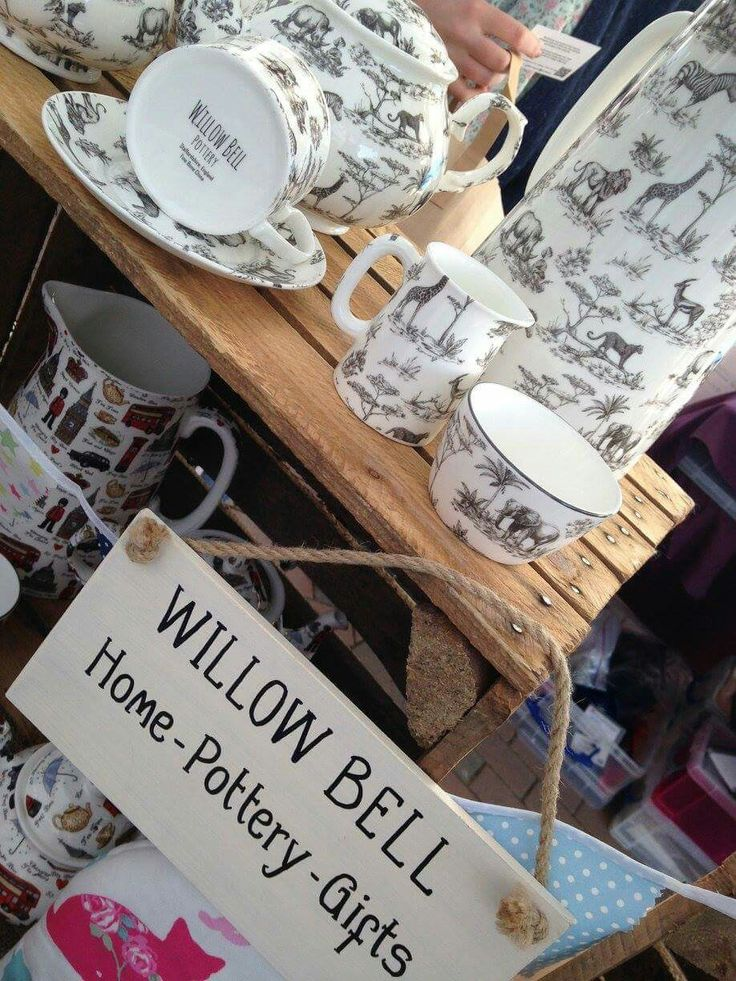 Willow Bell at Spinningfields Makers Market #StaffordshireFineBoneChina #Teapots #Teaset #WaterJugs #Vases #Mugs #Cupsandsaucers #Cushions #Bags #Teacosies #Cheshire #Manchester #Spinningfields