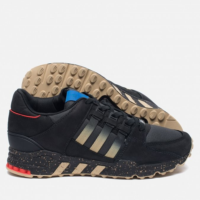 adidas Consortium x Highs & Lows EQT Running Support 93 Black. Article: BA9630. Year: 2016. Made in China.