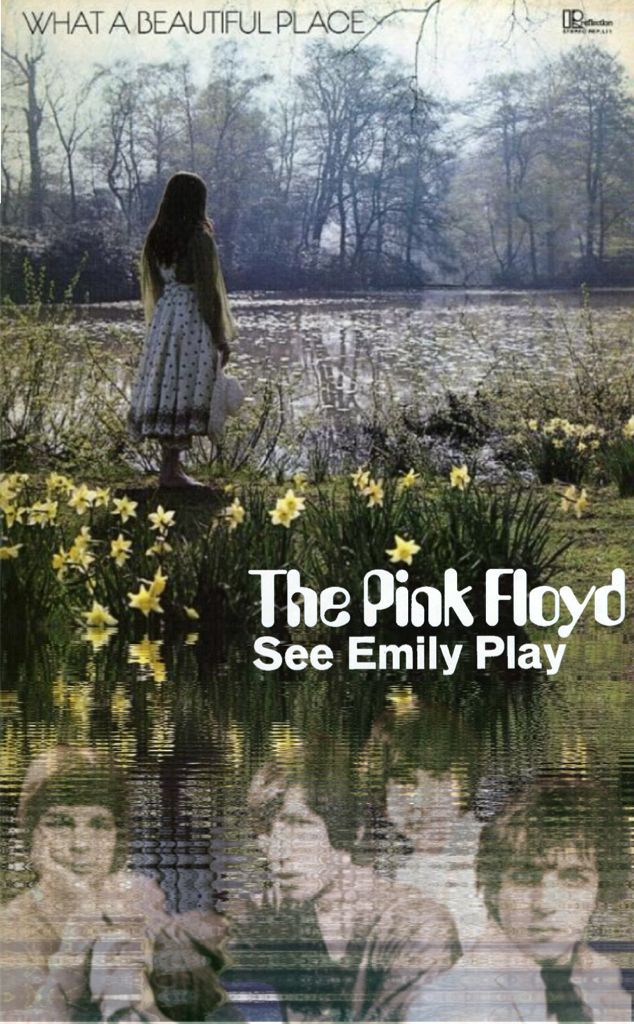 Pink Floyd / See Emily Play, Artwork #Acid Alarm Clock, Material (Vinyl Record :  Catherine Howe / What a Beautiful Place)