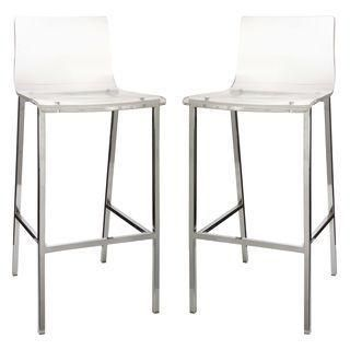 Fresh Acrylic Counter Stool with Back