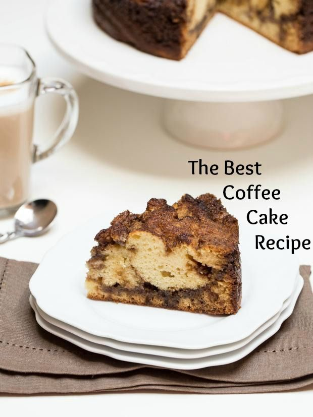 Best Coffee Cake Recipe, with a chewy-sweet crunch with a bite you will taste a swirl of brown sugar on the inside.