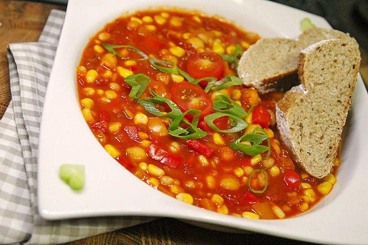 Chili sin Carne, ein tolles Rezept aus der Kategorie Gemüse. Bewertungen: 249. Durchschnitt: Ø 4,4.