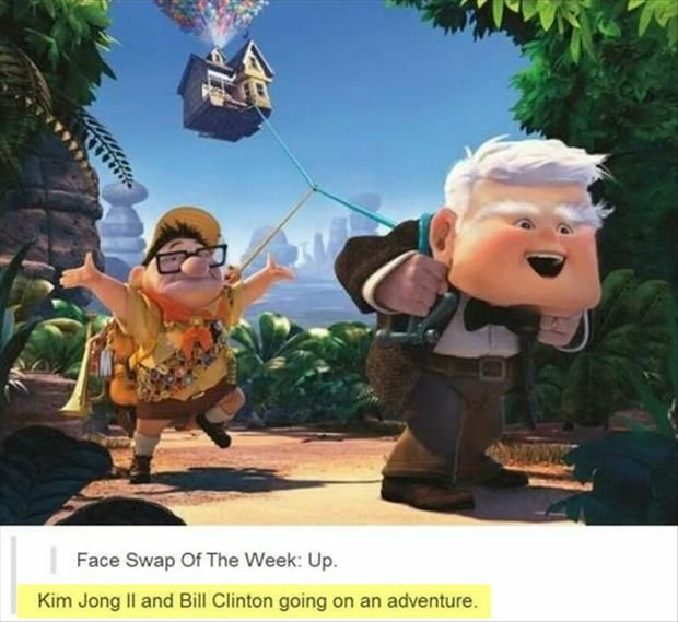 The ultimate UP Face swap