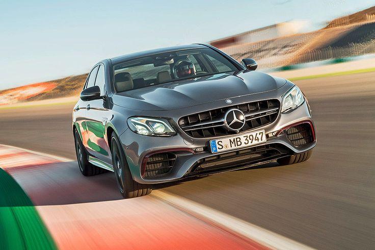 Mercedes-AMG E 63 S 4Matic+ (2016): Vorstellung - Bilder - autobild.de