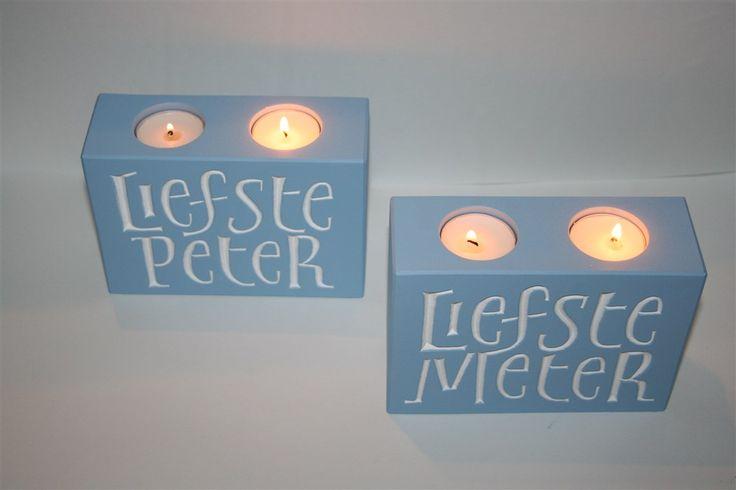 Liefste Peter - Meter (blauw)