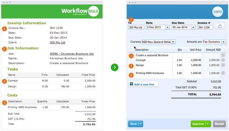 Workflowmax screenshot # 4