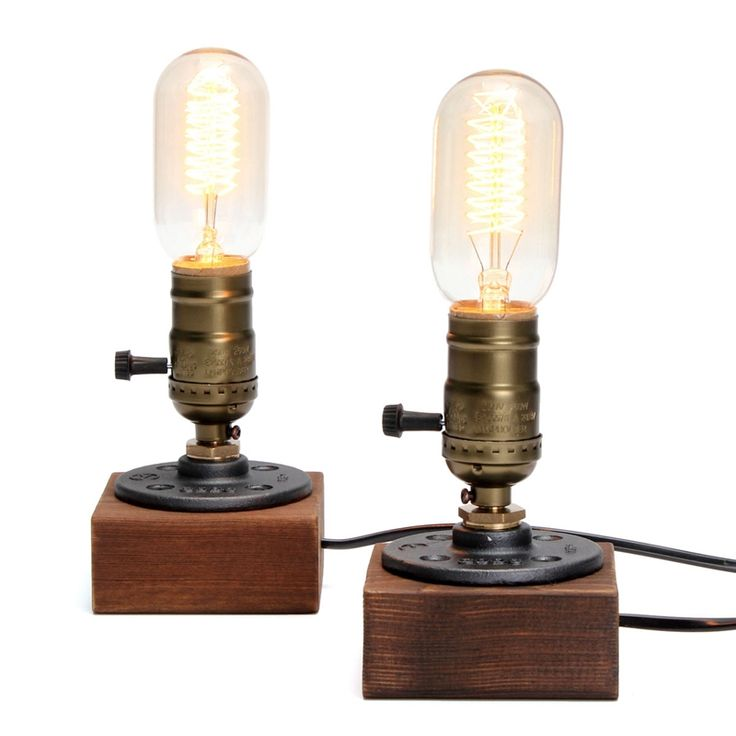 17 Best Images About Lighting On Pinterest Wooden Table Lamps Edison Bulbs And Vintage Table