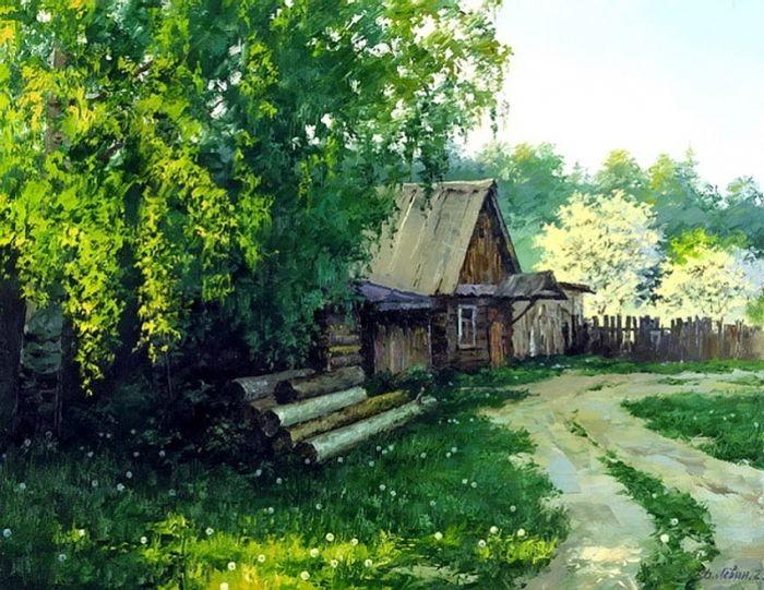 (+2) Дмитрий Лёвин художник русского пейзажа
