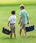 Personalized Easter Baskets for Boys | Boys Monogrammed Easter Baskets