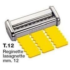 Imperia tésztagép kiegészítő vágófej - Reginette lasagnette (fodros) 12 mm