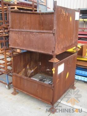 - INDUSTRIAL BINS - http://www.machines4u.com.au/browse/Material-Handling/Bins-Containers-300/Metal-Bins-1399/