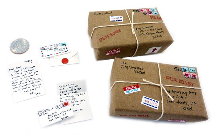 """Our new """"deluxe"""" DIY tiny mail kit is now available on Kickstarter!"""