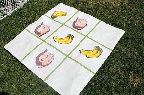 Curious george tic tac toe