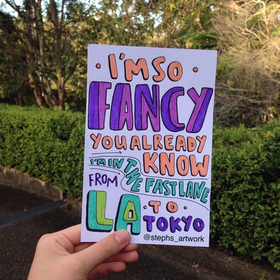 Fancy- Iggy Azalea
