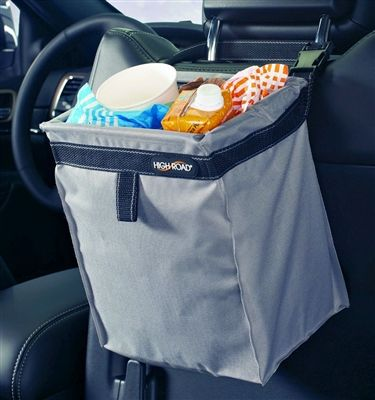 The First Leakproof Hanging Car Trash Bag With Adjustable Headrest Strap High Road TrashStash Litter For Cars Features A Full Liner And Holds Of