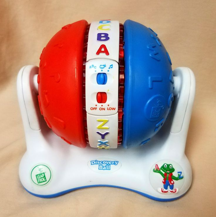 Leap Frog - Discovery Ball learning toy. A,B,C's, phonics ...