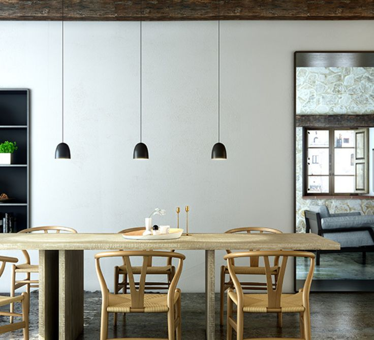 Suspensions speers de david abad pour b lux noir et interieur copper