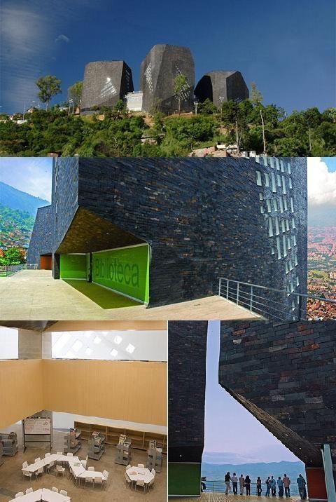 Parque España Library, Medellin (Colombia)