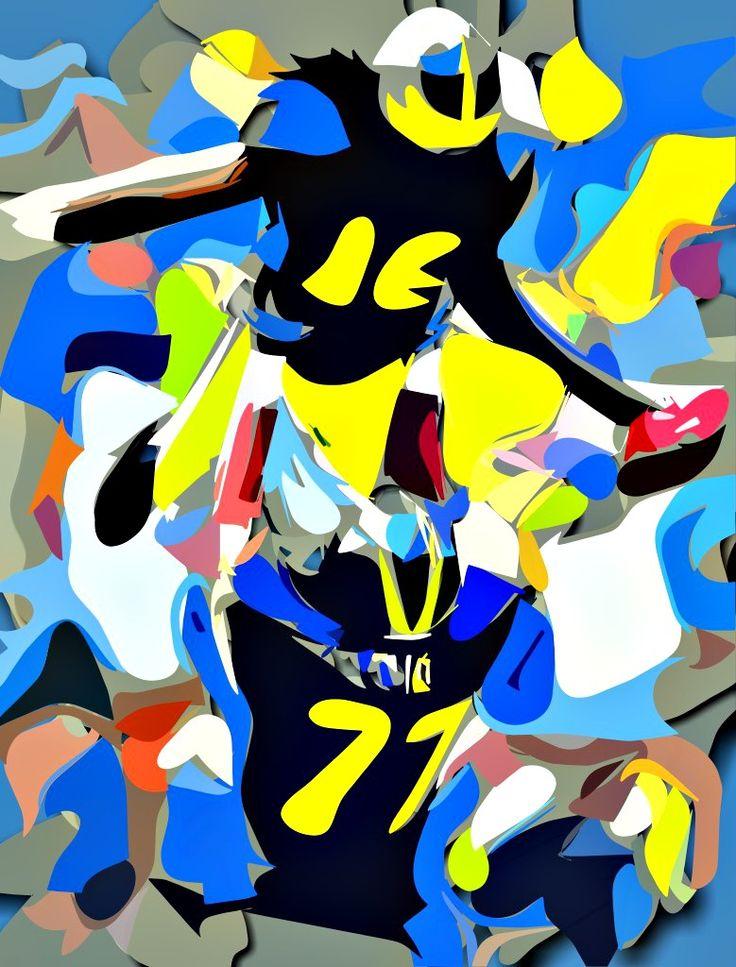 Taylor Lewan Collage Painting Virtual Painter 6