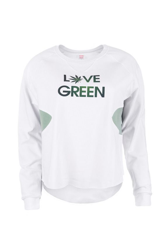 LOVE GREEN SWEATSHIRT