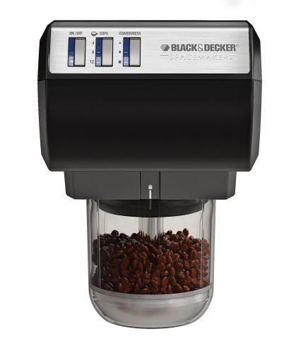 how to clean black and decker coffee grinder