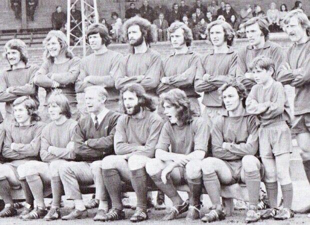 Walton & Hersham team group in 1973.