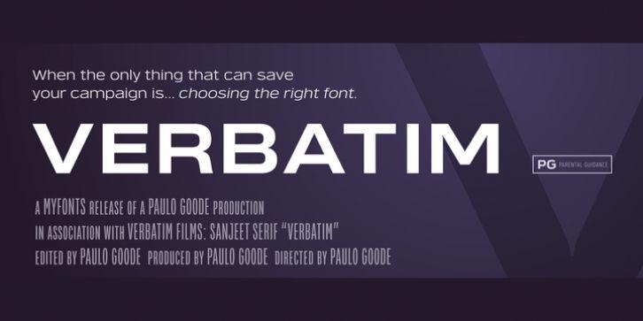 Verbatim Font Download   Fonts   Fonts, New fonts, Cool fonts