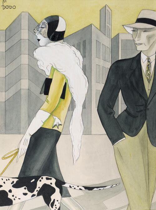 """ドイツ語圏の芸術bot on Twitter: """"デルテ・クラーラ・ヴォルフ(DoDo) 『ハウンド』 (1928)  Dörte Clara Wolff (DoDo) - Der WIndhund https://t.co/UHVhl0pQu4 #新即物主義"""""""