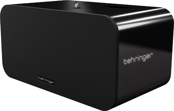 GIANT iPod dock - This is the 8-foot wide, 4-foot tall, $30,000 iNuke Boom iPod dock from Behringer. At over 700lbs and pumping out an inhumane 10,000 watts of deafening audio, this fridge-sized beast would keep even the most hardcore music fan happy