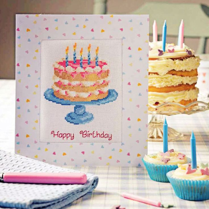 Happy Birthday - Project Available in Cross Stitch Collection 254 (October 2015)