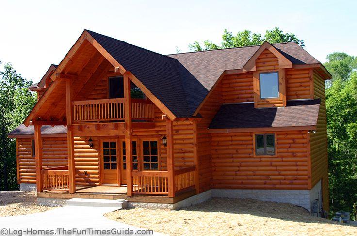 Exterior Log Siding Vs Full Log Walls Log Cabin Siding