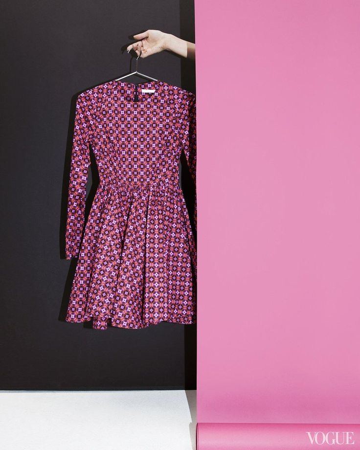 A kicky little dress for a Friday night; pair with an ankle boot, ribbed tights optional.