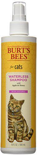 Burt's Bees for Cats Waterless Spray Shampoo Burt's Bees https://www.amazon.com/dp/B014TMYBFO/ref=cm_sw_r_pi_dp_x_-tYnybG1MS35N