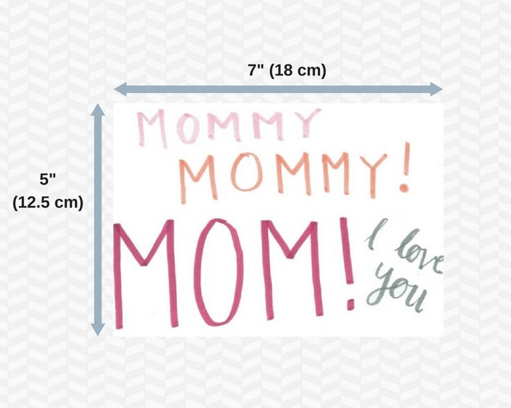 Mothers day cards | Practically free | Set of 5 | Mom | Mommy | I love you | Greeting cards | Mothers day