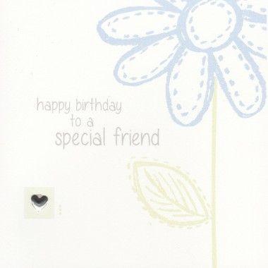 Happy Birthday to a Special Friend... www.threedotcards.co.uk