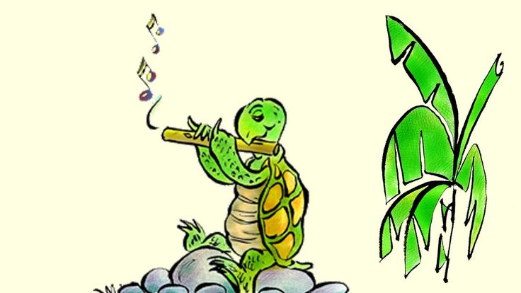 """Turtle's Flute: Learn Spanish with subtitles - Story for Children """"BookB..."""