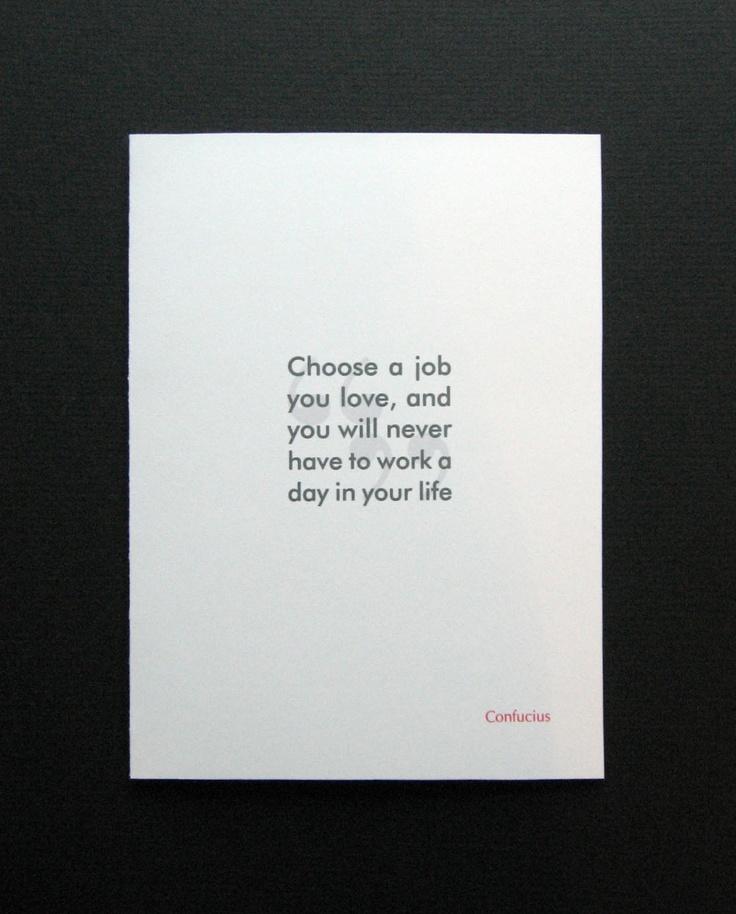 Congratulations on New Job Confucius quote funny R