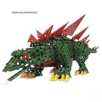 """Конструктор Стегозавр TECO ELEMENT 0606 - прекрасный развивающий подарок для юного любознательного конструктора . Доисторический мир завораживает, тут бродят динозавры, но с нашим стегозавром можно и даже нужно играть, потому что он сделан из конструктора """"TECO ELEMENT"""".  Конструктор """"Стегозавр"""" от компании """"Hobby Engine"""", включающий в себя 552 детали, надолго займет внимание ребенка. Ведь ему предстоит собрать самостоятельно или с помощью взрослых травоядного динозавра - стегозавра! Этот…"""
