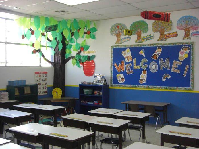 como decorar salon de clases preescolar imagui