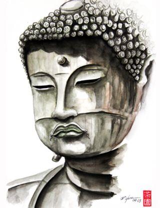Camiseta Buda do Studio Rchaem por R$65,00