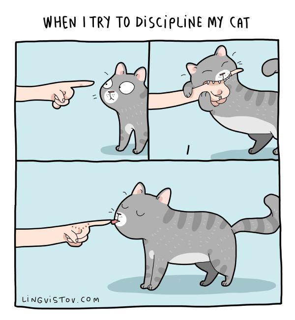 Lingvistov.com – #illustrations, #doodles, #joke, #humor, #cartoon, #cute, #funny, #comics, #greeting #cards, #joke, #drawing, #cats