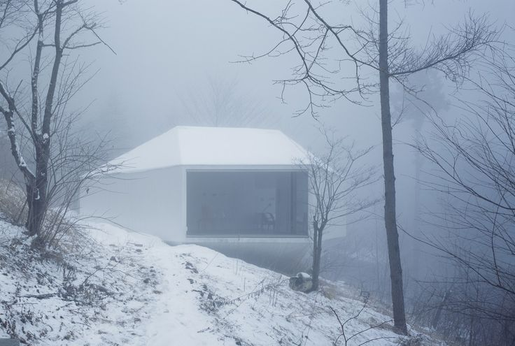 archatlas:  Villa / Gallery in KaruizawaMakoto Yamaguchi Design