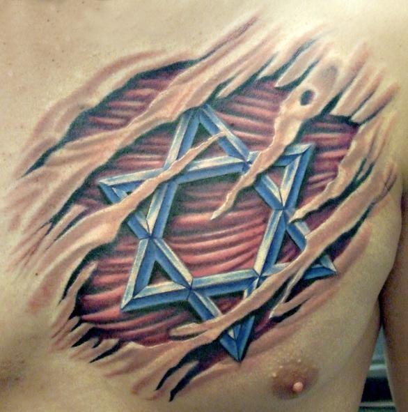 """De acordo com a Lei Judaica, a tatuagem é proibída. A Torá declara explicitamente que """"não farás tatuagem em seu corpo."""" (Vayicrá 19:27). Mas isso não impede que judeus façam tatuagem, afinal, o Livro Arbítrio existe e nem todos os judeus são observantes de todos os mandamentos. Em alguns casos é através de uma tatuagem…"""