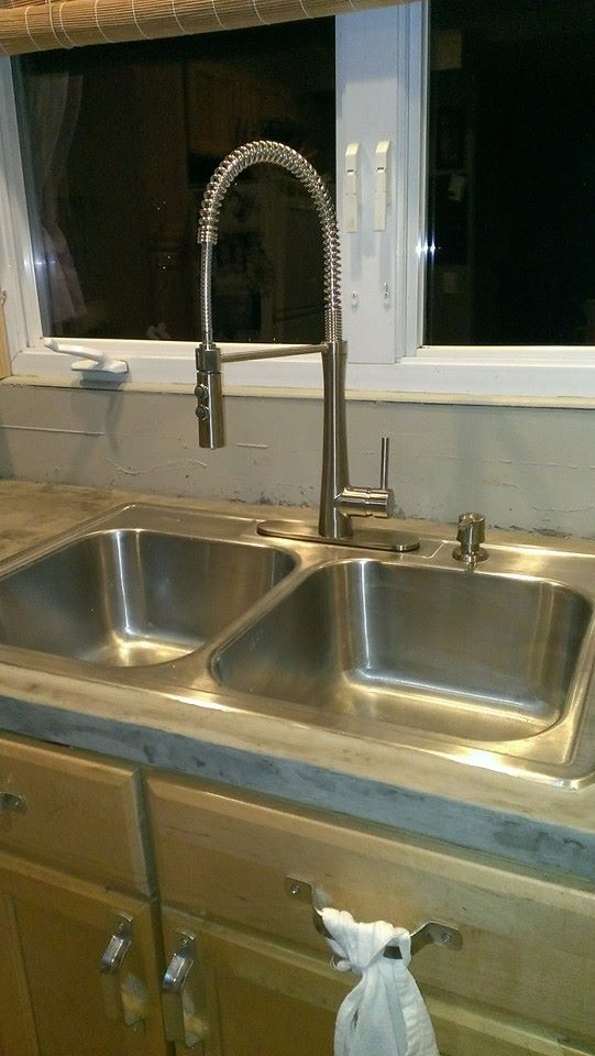 giagni fresco stainless steel 1 handle pull down kitchen faucet ...