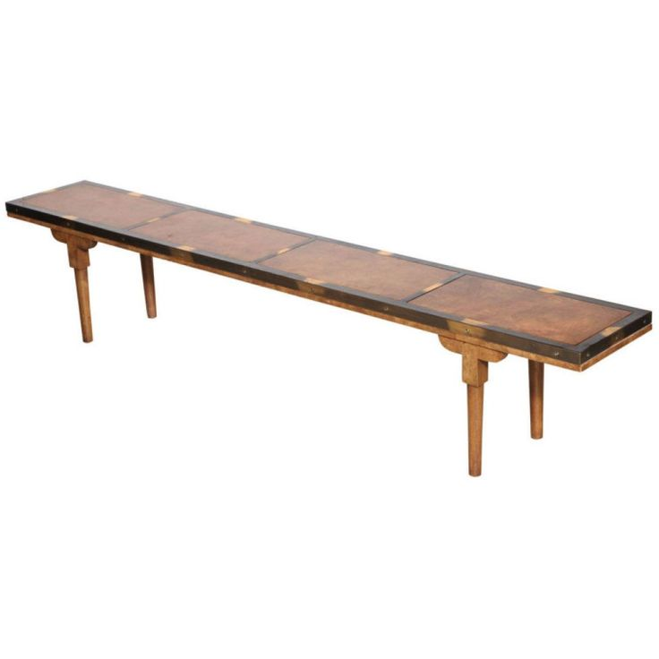Awesome Extra Long Dark Varnished Used Wood Narrow Coffee Table As Well
