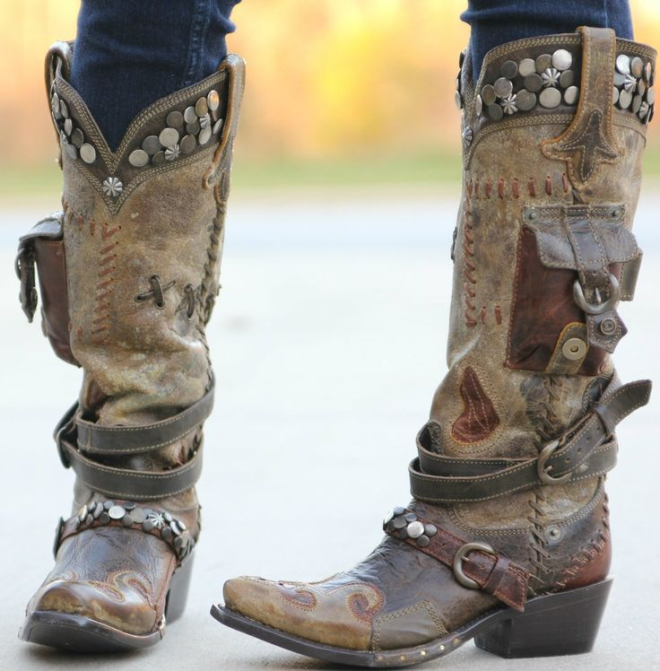 458 Best Cool Cowboy Boots Images On Pinterest Cowgirl