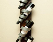 "Great wine rack Wall-Mounted Wine Rack (""Chris's Curls"")"