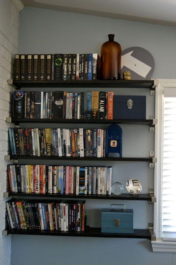 Cool Unique Diy Dvd Storage Ideas For Small Spaces Diy Ideas Solutions Binder Box Hidden Smallspace Cabinet Shelves Case Ru Interiores Decoracion De Unas Y Interiores Design