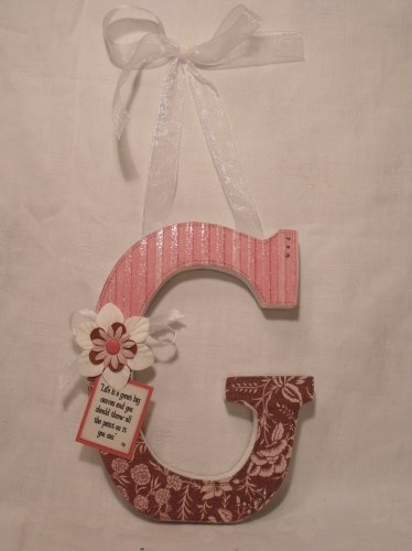 238 best images about wooden letter ideas on pinterest for Wooden letters for crafts
