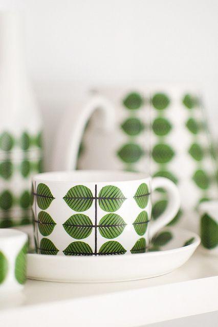Berså porcelain, designed by Stig Lindberg.